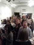 the place gets a little crowded during openings ;)