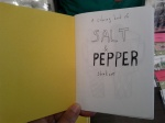 mini coloring book of salt and pepper shakers by Elizabeth Graeber ($5)