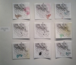 limited edition collaborative print-paintings by Kate McGraw and Ann Tarantino ($50)
