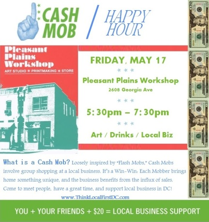 PPW Cash Mob Flyer